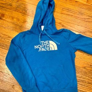 North Face blue hoodie